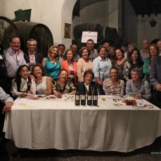 Presidiendo la mesa Doña Carmen García-Mier