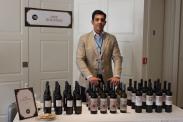 Stand del distribuidor de los vinos Cruz Vieja en U.K. Jose Fine Wines