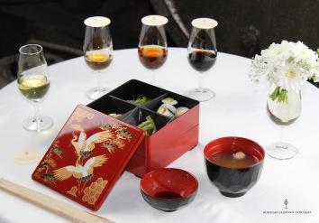maridaje con cocina japonesa